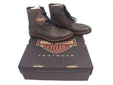 New! Harley-Davidson Men's Willie G Aldrich Grey/Ash Motorcycle Boots -Size 10.5