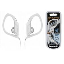 Panasonic RP-HS34-W Headphones Clip-On Sports Hook Water-Resistant RPHS34 White