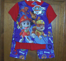 Paw Patrol Chase Marshall Rubble Zuma Rescue Pups 3 Pc Pajamas Toddler Boys 4t