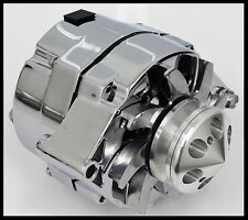 GM CHROME 120 AMP 10SI 1 ONE OR 3 THREE WIRE CHEVY ALTERNATOR 1001-MASTER KIT