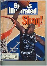 Nov 30 1992 issue of Sports Illustrated Shaquille O'Neal Cover