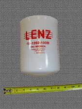 Waste Oil Heater Parts Hydraulic fuel oil filter LENZ CP-1282-100M 3-PACK VALUE!