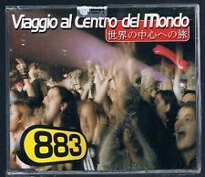 883 MAX PEZZALI VIAGGIO AL CENTRO DEL MONDO  CD SINGOLO SIGILLATO!!!
