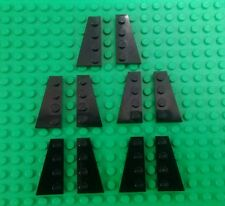 *NEW* Lego Bulk Black 3x2x1 Flat Left Right Wing Plates for Space Ship 10 pieces