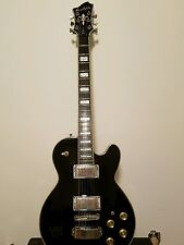 Hagstrom Super Swede Electric Guitar Solid Mahagony LP body style