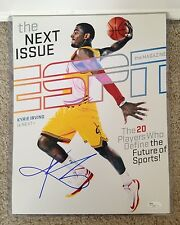 Kyrie Irving Signed Autograph 11x14 ESPN Cover Photograph NBA ROY Cleveland JSA