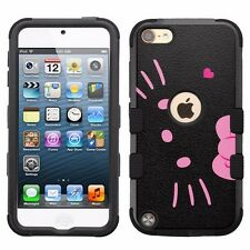 for Apple iPod Touch 5th 6th Impact Hybrid Cover Case Hello Kitty #BP