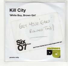 (GJ164) Kill City, White Boy, Brown Girl - DJ CD