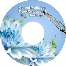 2 x Guided Meditación Sessions Deep Recarga & Deep Relajación En 1 CD Curación