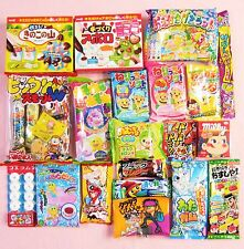20 PCS Set Japanese Candy Kit Dagashi Japanese Food Kracie Popin Cookin Gift