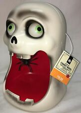 Halloween Animated Candy Bowl Light Up Motion Activated Sound Effect Moving Eyes