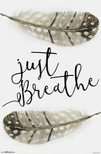 JUST BREATHE - INSPIRATIONAL POSTER - 22x34 - 15033