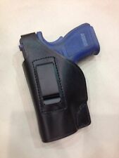 "LEFT Hand Leather Holster for  SPRINGFIELD XD  SUBCOMPACT 3"" bbl (# 228L BLK)"