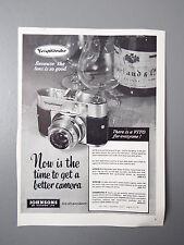 R&L Ex-Mag Vintage Advertisement: Voigtlander Vito Camera