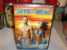 Into The Blue-Treasure Has it's Price,Paul Walker,Jessica Alba.Wide-DVD.Free 2US