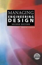 Managing Engineering Design by Shayne Gooch and Crispin Hales (2013, Paperback)
