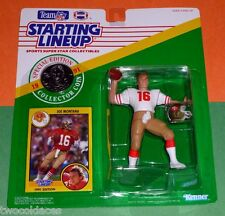 1991 JOE MONTANA San Francisco 49ers with coin - low s/h - Starting Lineup