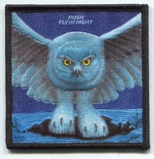 RUSH fly by night EMBROIDERED PATCH **FREE SHIPPING** -c p4159 clockwork angels