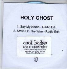 (BR335) Holy Ghost, Say My Name - DJ CD