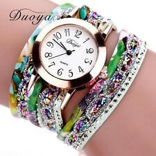 New Womens Lady Quartz Analog Stainless Steel Luxury Bracelet Dress Wrist Watch