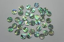 "PAUA ABALONE  SHELL Solid 1/4"" (6.35mm) dots inlay position markers 20pcs."