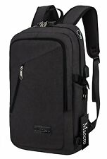 Mancro Slim Laptop Backpack, Business Computer Backpack with Headphone Port, Bag