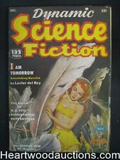 """Dynamic Science Fiction"" December 1952 1st Issue"