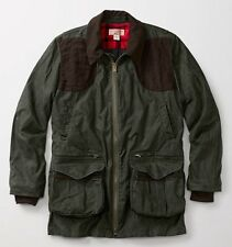 FILSON Light Shooting Jacket Coat Small NWT Olive/Brown $465 Retail