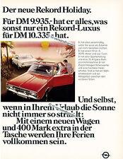 Opel-Rekord-1971-Reklame-Werbung-genuineAdvertising - nl-Versandhandel
