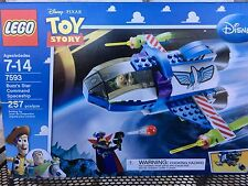 LEGO Toy Story Buzz's Star Command Spaceship (7593) Retired Complete