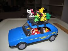 Vintage 1986 SUZUKI SWIFT GSI Playmobil Geobra Plastic Toy Car & Family