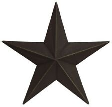 "8""  "" Black "" Barn Star, Primitive, Country, Metal Stars"