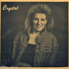"7"" CRYSTAL PLAMONDON Poor Boy / Pauvre Gars CRAZY FOX Country 45rpm Canada 1988"