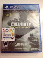 Call of Duty: Infinite Warfare Legacy Edition PlayStation 4 PS4 w/ Remastered