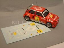 "DECAL CALCA 1/43 RENAULT 5 MAXI TURBO ""PHILIPS"" G. BARRERAS CTO. ESP. TIERRA '89"