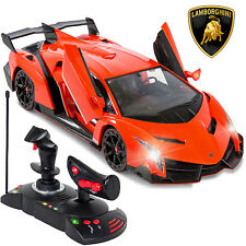 1/14 Scale RC Lamborghini Veneno Gravity Sensor Radio Remote Control Car Orange