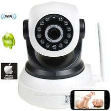 IP/Network Security Camera Baby Monitor Wireless Wi-Fi IR Day Night Vision bkw