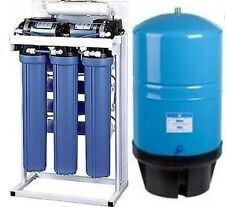 Reverse Osmosis Water Filtration System 800 GPD - Dual Booster Pump - 20G Tank