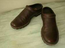 COLE HAAN COUNTRY Womens Brown Leather Mules Shoes 6 B~ D13392 EUC