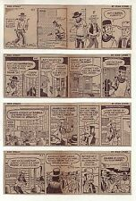 Rick O'Shay by Stan Lynde - 19 scarce daily comic strips from November 1960