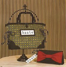 Haute Handbag & Clutch Sewing Pattern by Artful Offerings:  Contemporary Looking