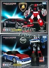 Takara Tomy Transformers Masterpiece MP-12G Lambor Sideswipe MP-19 Smokescreen
