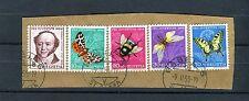 Schöner Briefausschnitt mit Schweiz Michel Nr. 602-606 - b0044