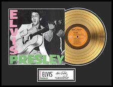 ELVIS PRESLEY ''Elvis Presley'' Gold LP-Limited Edition Lot 1540500