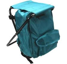 Fishing Stool With Backpack Rucksack Seat Chair Folding Camping Lightweight FISH
