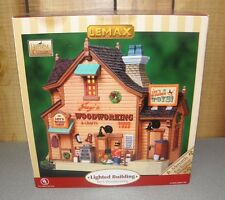 LEMAX Harvest Crossing 2008 Jay's Woodworking Lighted Village Building
