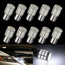 10x BAY15D 1157 Car Tail Stop Brake Light Super Bright 64 SMD LED Bulb 12V White