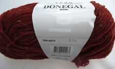 Lang Yarns Donegal Merino Wolle 50g Farbe 0075 marone rost melange  L