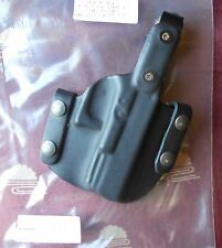 King Of Range Tactical Kydex OWB Holster Fits Glock 19,23 Right Hand Black C577