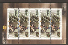 Australia 2001 Centenary of Australian Army sheetlet MNH